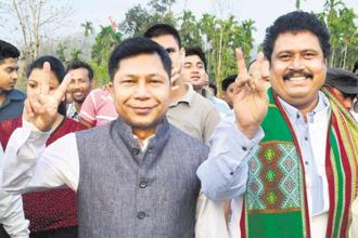 A file photo of Meghalaya chief minister Mukul Sangma. Photo: PTI