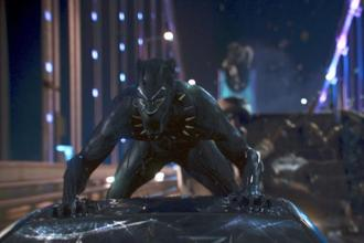 'Black Panther' was the best performing Hollywood film of this year. Photo: AP