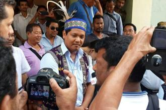 NPP president Conrad K. Sangma will recommend the name of the Protem Speaker after assuming the charge of chief minister on Tuesday.