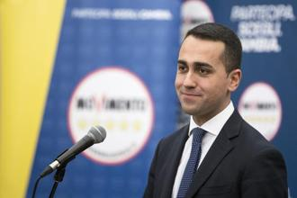 Five Star Movement leader Luigi Di Maio. Photo: Bloomberg