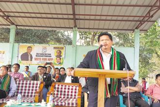 Meghalaya CM Conrad Sangma is very fond of reading as well as music. He is also known to play the guitar and piano. Photo: twitter@SangmaConrad