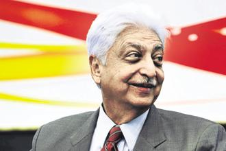 Azim Premji, founder of India's third largest software services company Wipro. Photo: AFP