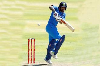 Shikhar Dhawan was the second-highest scorer in the recent six-match ODI series in South Africa. Photo: Reuters