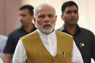 PM Narendra Modi said stern action should be taken against people guilty of vandalising statues, which have been reported in states including Tripura, West Bengal and Tamil Nadu. Photo: AFP