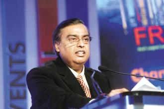 According to Forbes, Reliance Industries chairman Mukesh Ambani's wealth surged a whopping 72.84% to $40.1 billion, highest among the 119 Indian billionaires on the list. Photo: Abhijit Bhatlekar/Mint