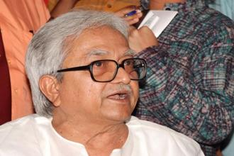 While Biman Bose will continue to be on CPM's West Bengal committee, Buddhadeb Bhattacharjee was allowed to step down and Asim Dasgupta was dropped. Photo: Indranil Bhoumik/Mint