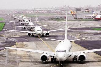 India is the world's fastest-growing aviation market. Photo: HT