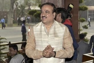 Union minister for chemicals & fertilizers Ananthkumar.  File photo: HT