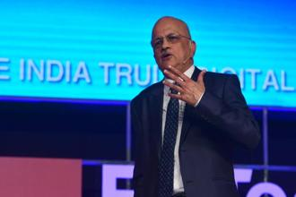 The combination of technology with different sectors such as healthcare and agriculture can lead to effective and optimal results, Nasscom president R. Chandrashekhar said. Photo: Ramesh Pathania/Mint