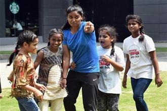 A question Deepika Kumari (centre) has faced repeatedly is about her failures at the Olympics. Photo: PTI