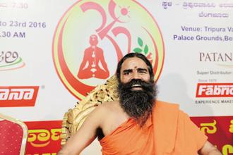 Patanjali Ayurved rides solely on herbal and ayurvedic products, backed by Baba Ramdev's aggressing marketing. Photo: Hemant Mishra/Mint