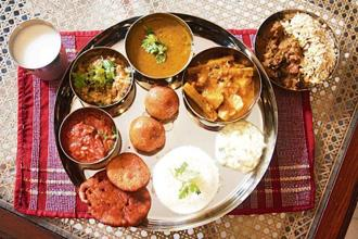 A Bihari meal at Priyadarshini Gupta's home in Mumbai offered by Authenticook.