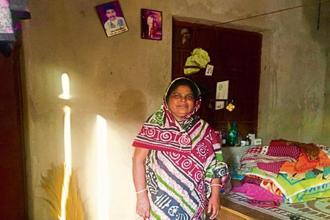 Pushpanjali speaks about her inter-caste love marriage as if it is a living story. Photo: Natasha Badhwar