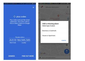To improve search for places which do not have a corresponding address on Maps, Google has added a new feature called Plus Codes.
