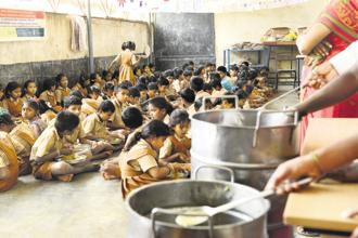 The Akshaya Patra Foundation also delivers food to over 4,000 Anganwadi centres, benefiting more than 163,000 children. Photo: Hemant Mishra/Mint