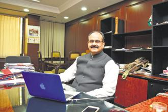 Ajay Bhushan Pandey, chief executive officer, Unique Identification Authority of India (UIDAI). Photo: Ramesh Pathania/Mint
