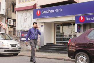 Kolkata-based Bandhan Bank has set a price band of Rs370-375 per share for its IPO, and at the upper end of the price band, the share sale values the lender at Rs44,730 crore. Photo: Indranil Bhoumik/Mint
