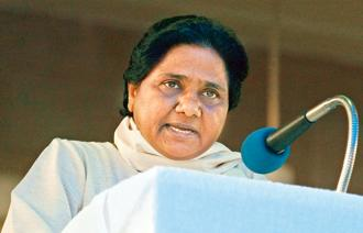 BSP chief Mayawati on Thursday said the BJP may call for early Lok Sabha elections after its defeat in UP and Bihar bypolls. Photo: Reuters
