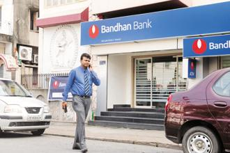 Shares in the Bandhan Bank IPO are being issued in a price band of Rs370-375 apiece. Photo: Indranil Bhoumik/Mint