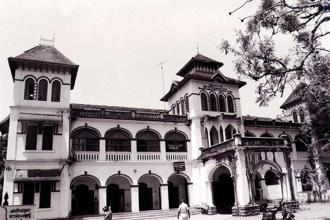 A file photo of a former Travancore and Quilon Bank building, later converted into a hospital. Photo: Wikimedia Commons