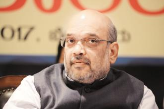 A file photo of BJP president Amit Shah. Photo: Hemant Mishra/Mint
