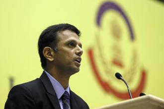 Though there were reports of many sportspersons and other celebrities being duped by the company, Rahul Dravid has been the first to lodge a complaint. Photo: HT