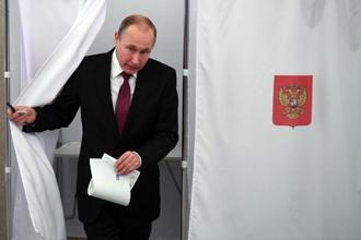 In a widely-expected result, an exit poll by pollster VTsIOM showed Vladimir Putin, who has already dominated the political landscape for the last 18 years, had won 73.9% of the vote. Photo: Reuters