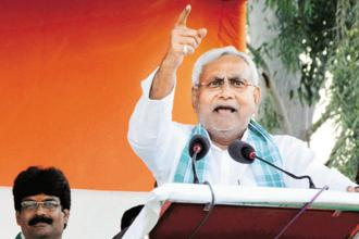 Bihar chief minister Nitish Kumar on Monday said he had not given up the demand for grant of special status to the state. Photo: PTI