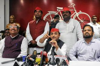Samajwadi Party chief Akhilesh Yadav. Photo: PTI