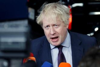 British foreign secretary Boris Johnson said many in the EU have been victims of  'malign Russian behaviour' and that Moscow is 'not fooling anybody anymore'. Photo: Reuters