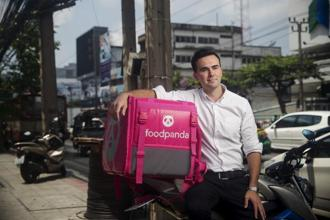 Foopanda's Thailand chief executive Alexander Felde said Bangkok may have some of the best regional potential for meal apps as it has so many street stalls and great restaurants. Photo: Bloomberg