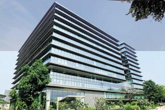 The mixed-use precinct spread across 9.4 acres houses Godrej One, the Godrej Group's global headquarters, and will comprise a luxury Taj hotel, cultural buildings, luxury residences and a high-street retail park. Abhijit Bhatlekar/Mint