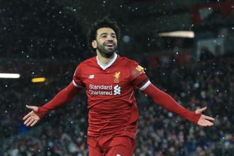 Mohamed Salah is the leading goalscorer in the Premier League this season. Photo: AFP