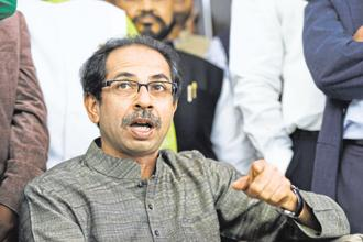 Shiv Sena chief Uddhav Thackeray. Photo: HT
