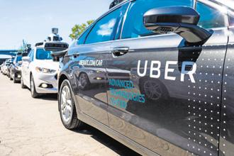 A self-driving test car from Uber Technologies Inc. hit and killed a pedestrian in Tempe, near Phoenix, late Sunday, prompting investigations by regulators and a backlash from some consumer-safety advocates. Photo: AFP
