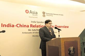 India's ambassador to China, Gautam Bambawale, says India and China have been working closely together on reducing non-tariff barriers in pharmaceuticals and information technology sectors.