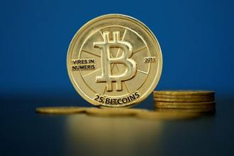 Bitcoin is still down more than 50% from an all-time high of almost $20,000 in December. Photo: Reuters