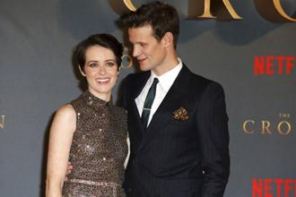 A file photo of Netflix's 'The Crown' actors Claire Foy and Matt Smith. Foy was paid less than her male co-star. Photo: AP