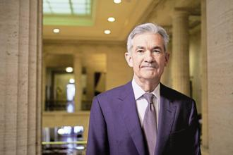 Jerome Powell, chairperson of the US Federal Reserve. The vote for an interest rate hike to 1.5% to 1.75% was a unanimous 8-0. Photo: Bloomberg
