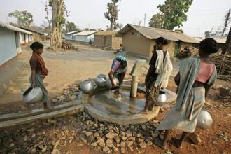 Globally, WaterAid said, the number of people without clean water close to home has gone up with over 844 million people now struggling to access safe water—an about 200 million more than previously counted. Photo: Reuters