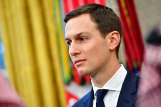 Despite scepticism among area experts that he lacks the tools to do the job, Kushner is still in the game. Photo: Bloomberg