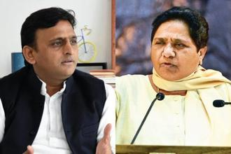 Samajwadi Party chief Akhilesh Yadav and Bahujan Samaj Party's Mayawati. How the Congress engages with the SP-BSP alliance could also have an impact on the 2019 Lok Sabha elections.