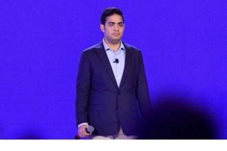 Reliance Jio director Akash Ambani. The Jio-Saavn deal, will see Reliance Industries buy stake in Saavn for $104 million and invest $100 million for expansion of the music app. Photo: PTI