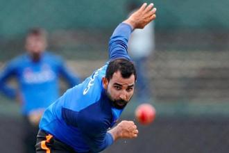 Earlier, BCCI had decided to withhold Mohammed Shami's contract after his wife Hasin Jahan made a series of allegations, including adultery, domestic violence, and lodged an FIR against him. Photo: Reuters