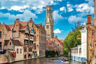 The Rosary Quay is one of the most photographed spots in Bruges. Photo: iStockphoto