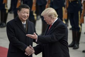 Chinese President Xi Jinping and US President Donald Trump. Though China's actions so far are seen by analysts as measured, there may be more to come. Photo: AFP