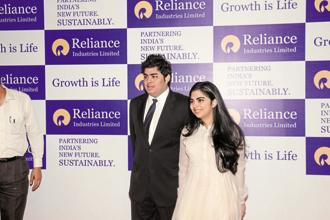 Akash Ambani with his twin sister Isha Ambani. File photo: Mint