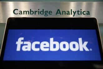 The Facebook-Cambridge Analytica issue pertains to 2014 (the social networking site's architecture has undergone substantial changes since then) and the 2016 US elections. Photo: AFP