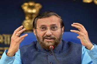 Union HRD minister Prakash Javadekar said his ministry has already initiated an internal probe into the CBSE paper leak case. Photo: PTI