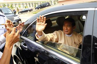 Win Myint, 66, had been tipped for the role after former president Htin Kyaw suddenly stepped down last week, citing the need for rest. Photo: AP